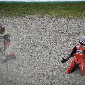 Zarco lamenta acidente com Dovizioso no GP da Catalunha: ...