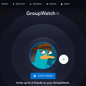 Disney+ expande GroupWatch antes de chegada ao Brasil