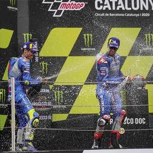 Com Mir e Rins, Suzuki põe dois pilotos no pódio pela ...