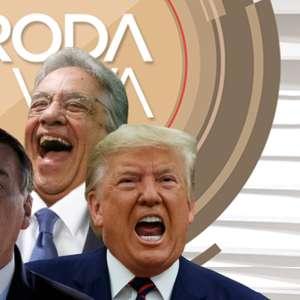 'Roda Viva': FHC debocha da amizade de Bolsonaro com Trump