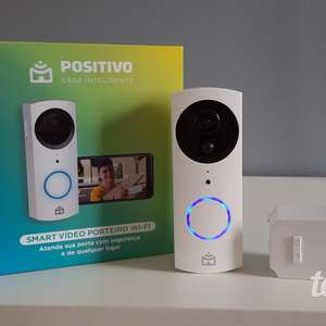 Smart Vídeo Porteiro Wi-Fi Positivo: um reforço na ...