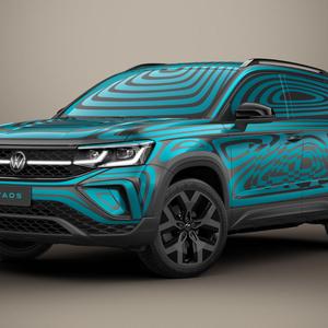 Volkswagen revela Taos camuflado; novo SUV mira Jeep Compass