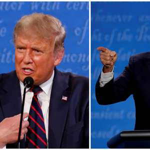 Audiência televisiva para debate entre Trump e Biden é ...