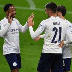 Com grande atuação de Sterling, Manchester City vence ...