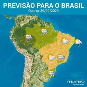 Rio Grande do Sul tem temporais e calor passa dos 40°C ...