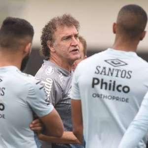 Santos marca treino no fim da tarde para fugir do calor ...