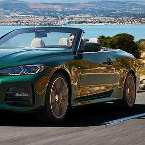 BMW revela o novo Série 4 Conversível com teto de lona
