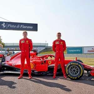 Schumacher, Shwartzman e Illot participam de teste com ...