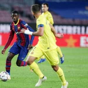 Manchester United tenta o empréstimo de Dembélé, do Barça