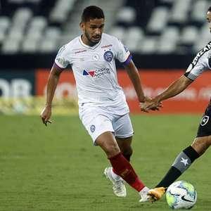 Bahia despacha o Botafogo e deixa a zona de rebaixamento