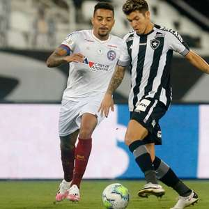 Substituído no 2º tempo, Bruno Nazário, do Botafogo, ...