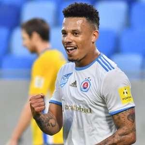 Rafael Silva comemora momento do Slovan e diz: 'Objetivo ...