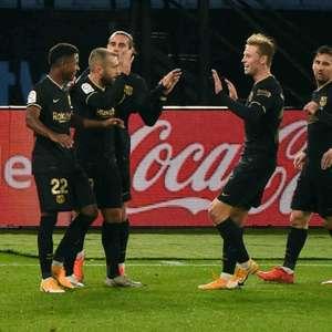 Barcelona vence o Celta de Vigo, fora de casa, pelo Espanhol