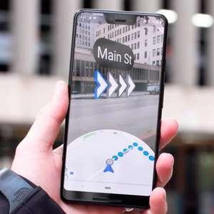 Google Maps atualiza modo de realidade aumentada Live View
