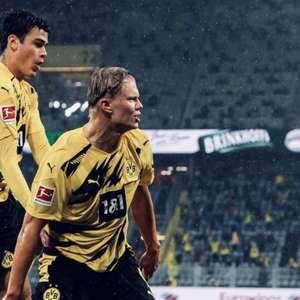 Borussia goleia Freiburg com grande atuação de Haaland