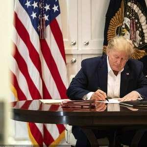Laboratório encerra estudo de tratamento usado por Trump