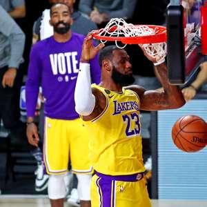 Lakers vencem Heat e ficam a um triunfo do título da NBA