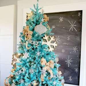 Árvore de Natal Azul: +48 Modelos Ousados Para Decorar ...