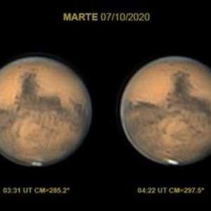 Observatório mineiro capta Marte em proximidade máxima com a Terra; veja vídeo