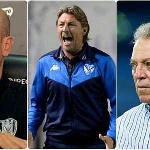 Miguel Ángel Ramírez, Gabriel Heinze e Abel Braga: veja os técnicos cotados para assumir o Palmeiras