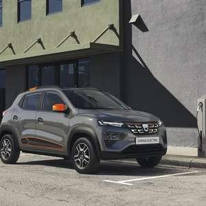 Kwid vira elétrico de 43 cv na Europa com nome Dacia Spring