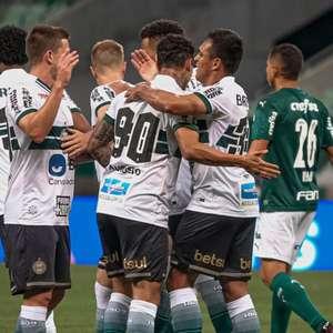 Jorginho sobre a vitória do Coritiba: 'A equipe foi extremamente organizada'