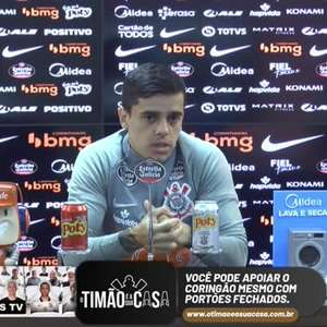 """CORINTHIANS: Fagner revela choro de esposa e filho após vitória sobre o Athletico-PR: """"É um peso que carregamos"""""""