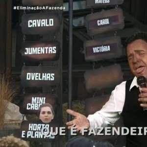 Carioca é criticado por uso de blackface em 'A Fazenda'