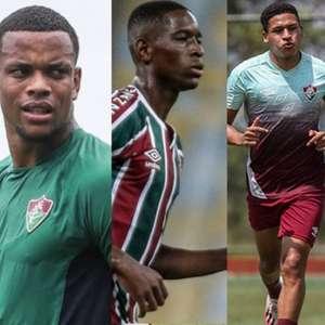 Felippe Cardoso, Caio Paulista, Luiz Henrique, Pacheco, Fred... Odair ganha opções no Fluminense