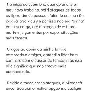 Xbox Brasil demite apresentadora após ela sofrer ameaças