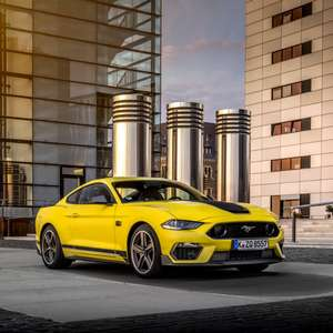 Ford inicia vendas do Mustang Mach 1 no Festival de Goodwood