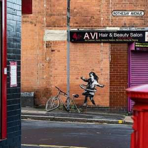 Banksy admite ser autor de grafite que surgiu em Nottingham