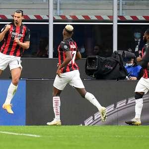 Com dois de Ibra, Milan vence Inter no dérbi pelo Italiano