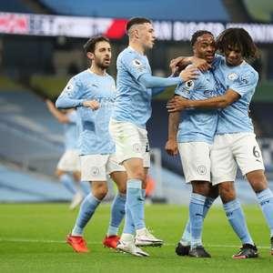 Com gol de Sterling, City vence o Arsenal em jogo morno