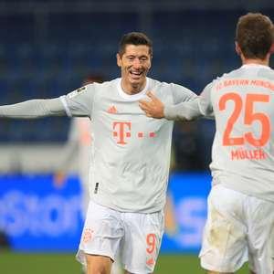 Com show de Müller e Lewandowski, Bayern goleia o Arminia