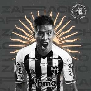 Atlético-MG oficializa contratação de Matías Zaracho