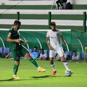 Em jogo bastante nervoso, Goiás e Bahia empatam na Serrinha