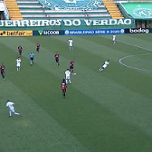 Na Arena Condá, Chapecoense fica no empate com o Vitória pela Série B