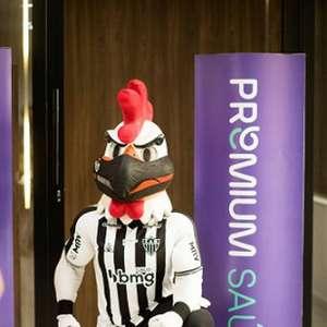 Atlético-MG fecha mais um patrocínio para o uniforme com empresa do ramo de saúde