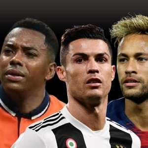 Suspeita de violência sexual assombra ídolos do futebol