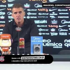 """CORINTHIANS: Mancini vê injustiça em ser responsabilizado por goleada sofrida para o Flamengo: """"Todo mundo no clube tem a sua parcela de culpa"""""""