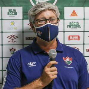 Odair Hellmann lamenta nova lesão no Fluminense e culpa sequência de jogos: 'Jogadores estão no limite'