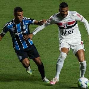 Em jogo morno, São Paulo e Grêmio empatam no Morumbi