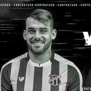 Felipe Vizeu é a mais nova contratação do Ceará