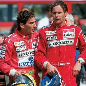 """Berger vê Schumacher e Hamilton gigantes, mas crava: """"Senna é o melhor"""""""