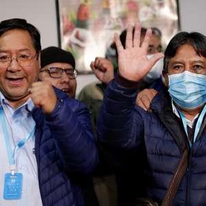 Socialistas da Bolívia selam vitória de retorno após ano ...