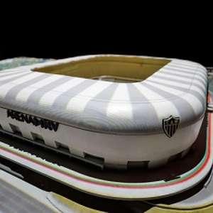 Atlético-MG já vendeu mil cadeiras cativas e 81% dos camarotes do seu estádio, a Arena MRV