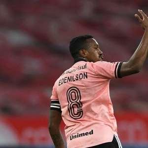 Edenílson admite que 'secará' Atlético-MG, mas ressalta: 'Muito campeonato pela frente'