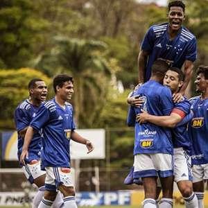 Cruzeiro vence o Palmeiras pelo Brasileiro sub-20 e sobe ...