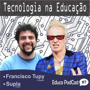 """""""Saber ouvir também faz parte da educação"""", diz Supla"""